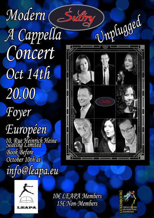 LEAPA Concert Poster