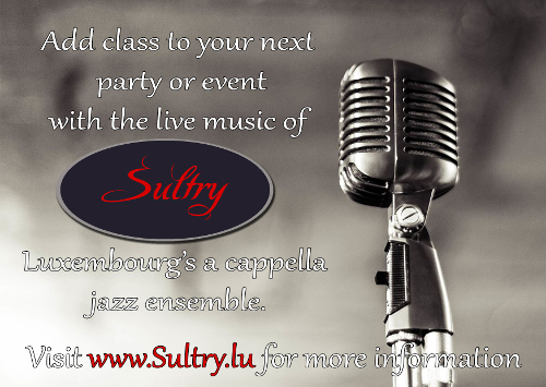 Sultry at your next event